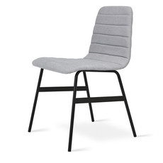 Gus Modern Lecture Upholstered Chair Vintage Alloy