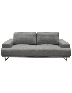 Diamond Sofa RUSSO SOFA SPACE GREY FABRIC