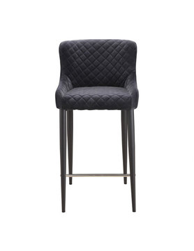 Moes ETTA COUNTER STOOL DARK GREY