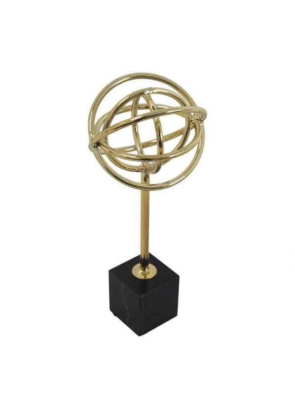 Moes ATOMIC TABLE TOP DECOR GOLD