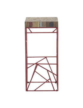 Moes RUBIC BAR STOOL RED