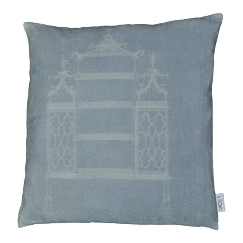 Moe's Home Collection Temple Velvet Pillow 25X25