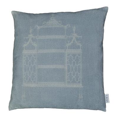 Temple Velvet Pillow 25X25
