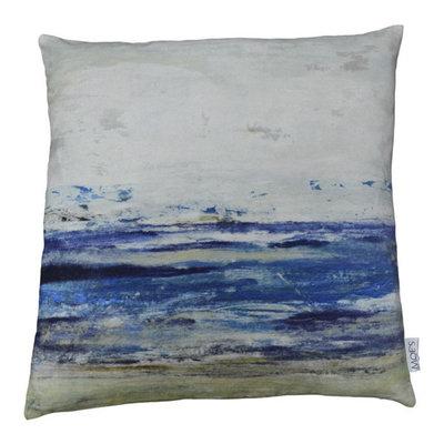 Ocean Velvet Pillow 25X25