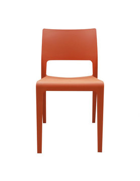 Moes Morrill Dining Chair Orange-M2