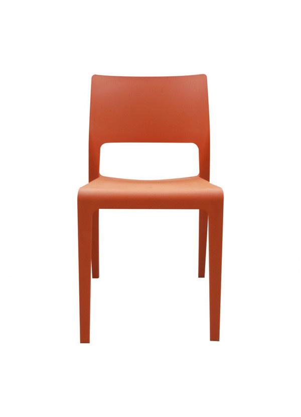 Moes Morrill Dining Chair Orange-M2