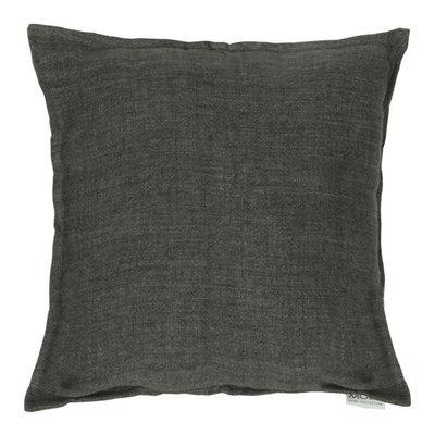 Moe's Home Collection Lemmy Linen Charcoal Pillow 20X20
