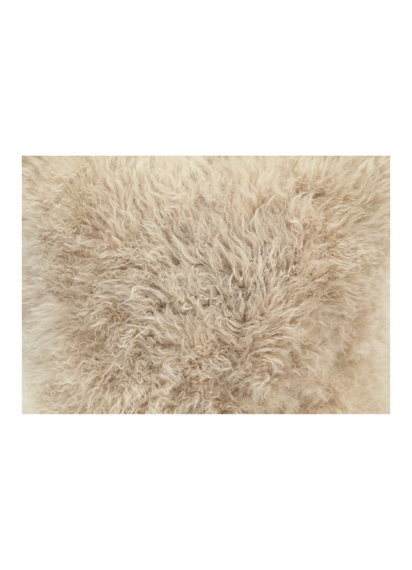 Moes CASHMERE FUR PILLOW CREAM