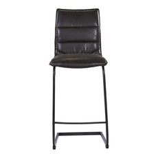 Moe's Home Collection Radiant Counter Stool Black-M2
