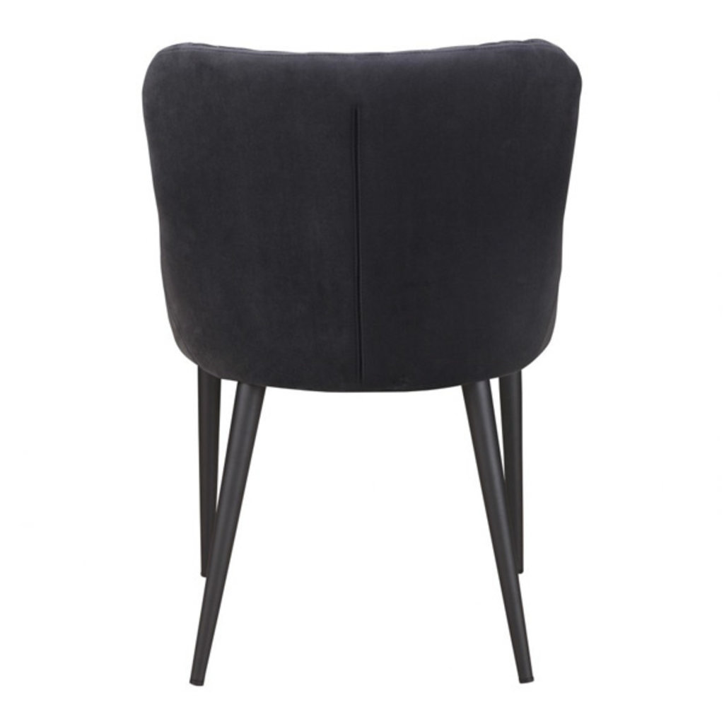 Moe's Home Collection Etta Dining Chair Dark Grey