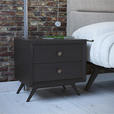 Modway Tracy Black Nightstand