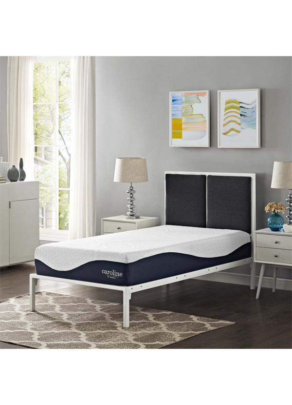 "Modway CAROLINE 10"" TWIN MEMORY FOAM MATTRESS"