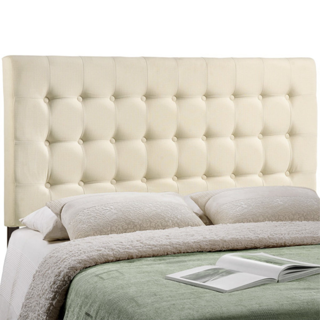 Modway Tinble Queen Headboard in Ivory
