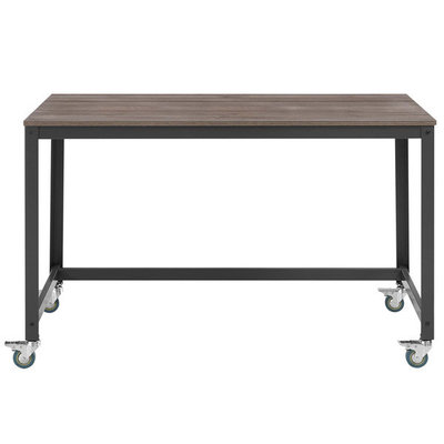 Modway Vivify Computer Office Desk Grey Walnut