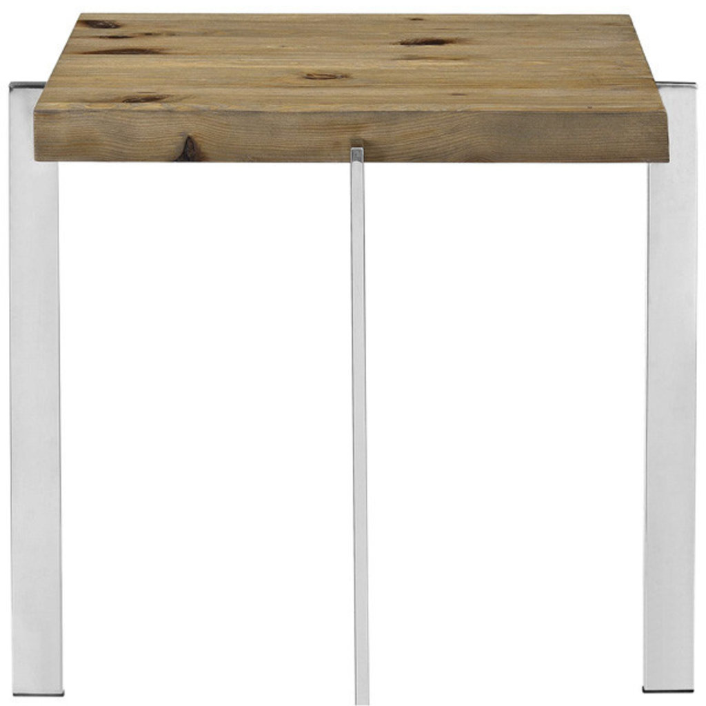 Modway Diverage Wood Side Table