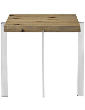 Modway DIVERGE WOOD SIDE TABLE IN BROWN