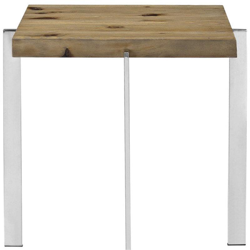 Modway Diverage Wood Side Table