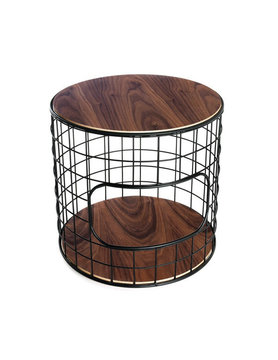 Gus Modern Wireframe End Table