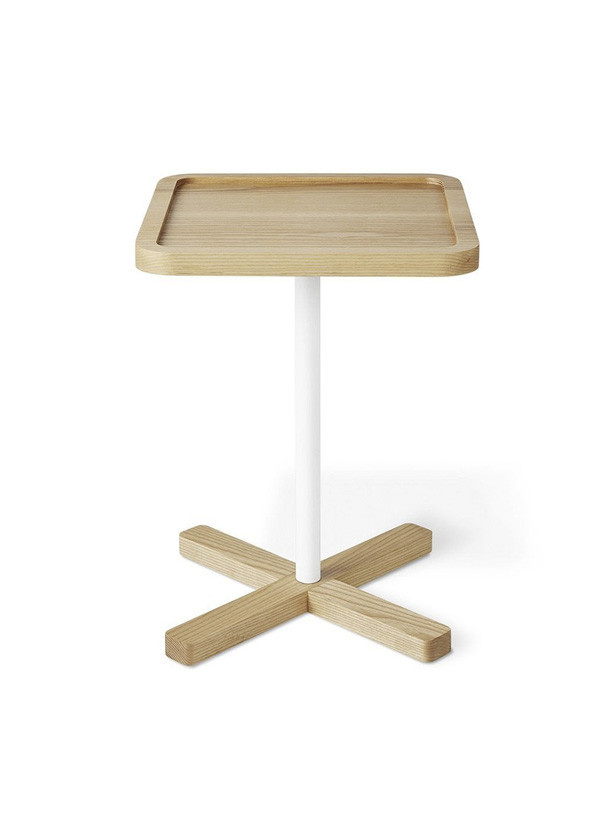 Gus Modern Axis End Table Natural Ash
