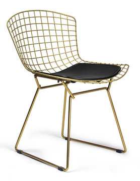AEON MODERN CLASSIC CH7177-Champagne-Black - Aspen Side Chair