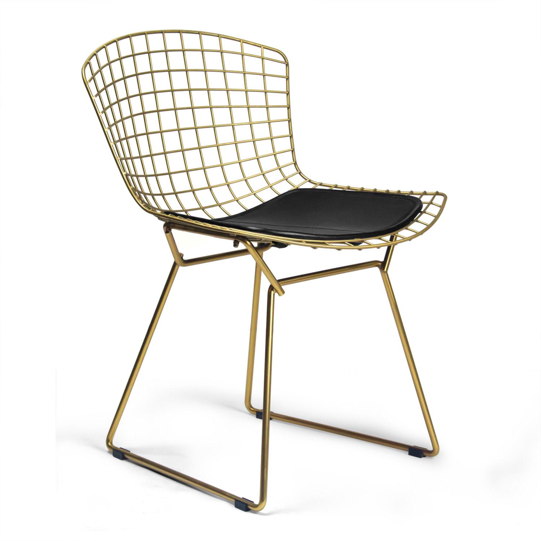 AEON MODERN CLASSIC CH7177-Champagne-Black - Aspen Side Chair