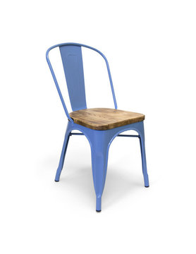 AEON MODERN CLASSIC Garvin Dining chair Blue-Wood