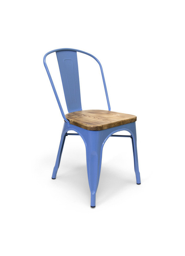 finest selection d627a 1f1dd Garvin Dining chair Blue-Wood