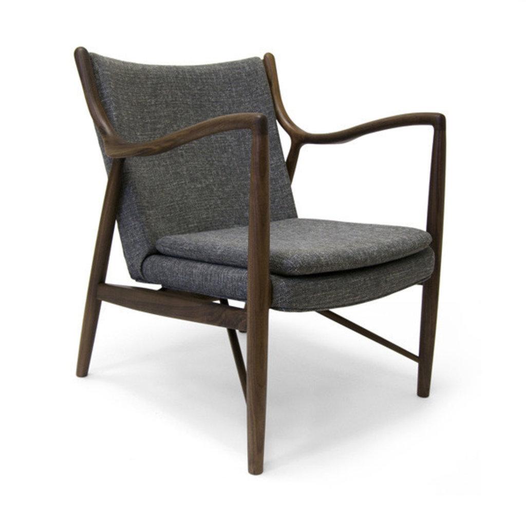 Aeon Modern Classics Syracuse Lounge Chair American Walnut