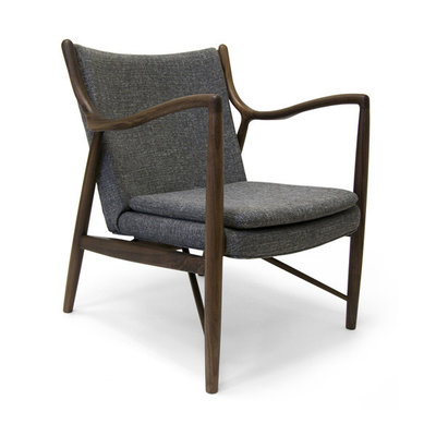 Aeon Modern Classics Syracuse Lounge Chair American Walnut