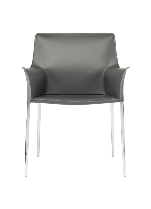 Nuevo Living COLTER DINING CHAIR, GREY