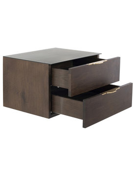 Nuevo Living DRIFT FLOATING SIDE TABLE SMOKE