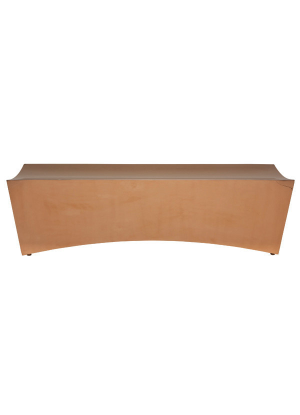 Nuevo Living TITAN - BENCH  GOLD SEAT METAL STAINLESS STEEL POLISHED
