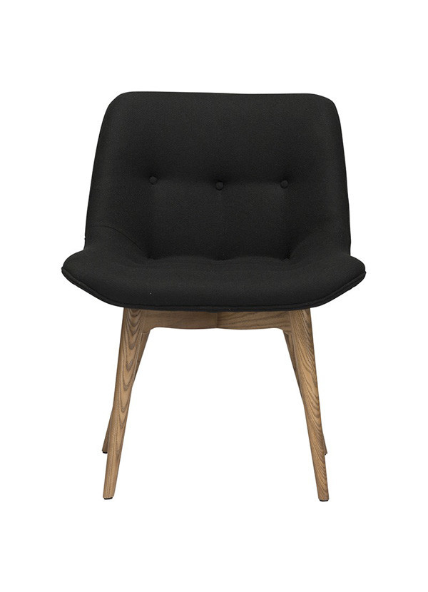 Nuevo Living BRIE DINING CHAIR BLACK