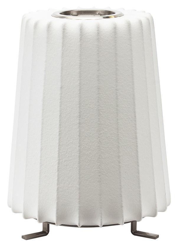 Nuevo Living AMILIA - LIGHTING TABLE WHITE SHADE POLYMER ACRYLIC MATTE