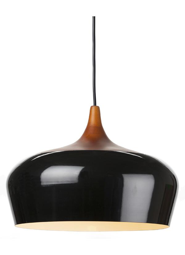 Nuevo Living LIAM Pendant Lamp black Metal