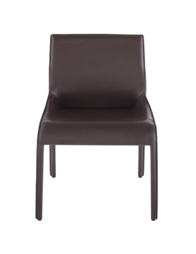 Nuevo Living DELPHINE DINING CHAIR BROWN