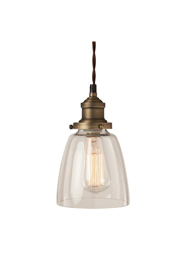 Nuevo Living EMILEE PENDANT LAMP  CLEAR