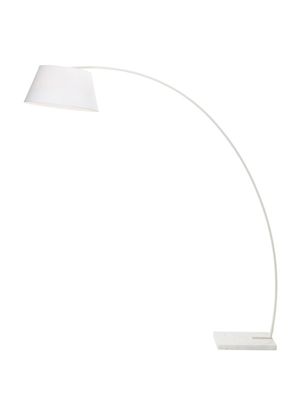 Nuevo Living EVAN FLOOR LAMP WHITE SHADE