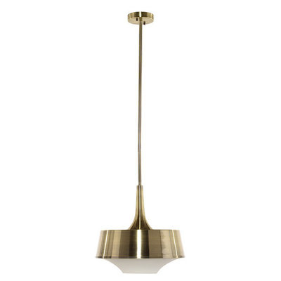 Nuevo Living Harper Pendant Lamp Antique Brass