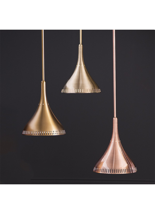 Nuevo Living LISE PENDANT LAMP ANTIQUE BRASS POLISH