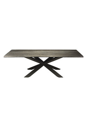 Nuevo Living COUTURE  DINING TABLE OXIDIZED GREY OAK