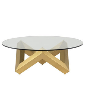 Nuevo Living COMO COFFEE TABLE  GOLD