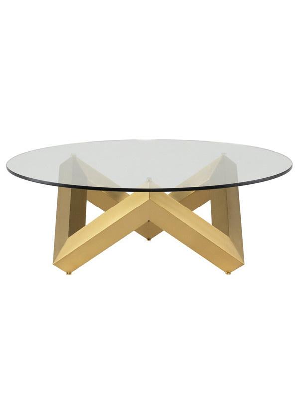 Nuevo Living COMO COFFEE TABLE  GOLD