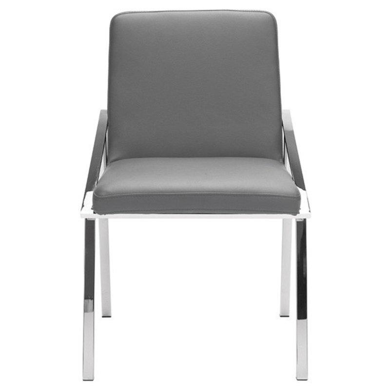 Nuevo Living Nika Dining Chair Grey
