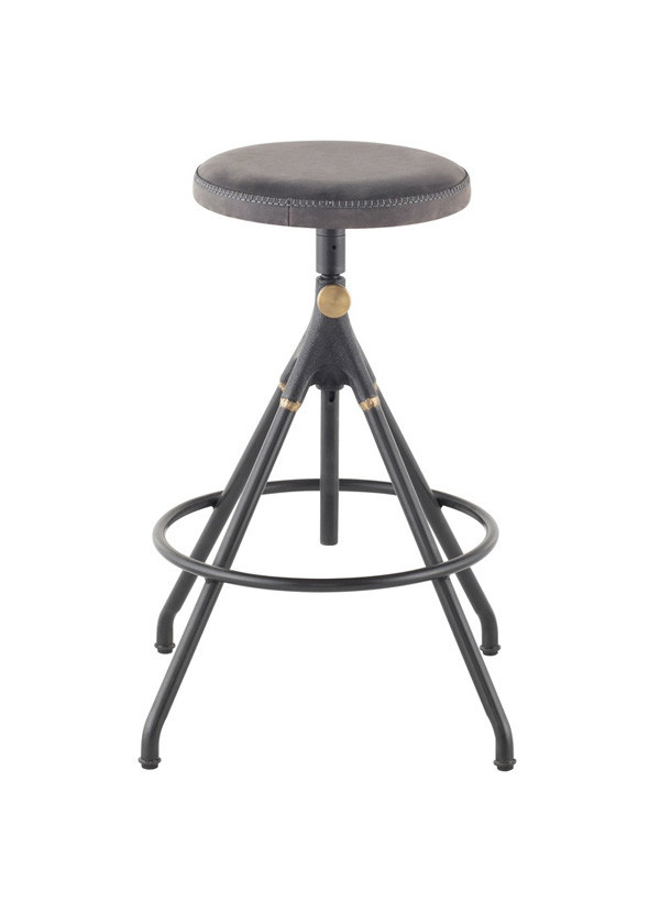 Nuevo Living AKRON COUNTER STOOL STORM BLACK