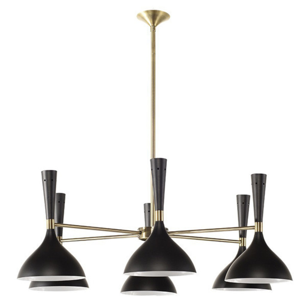 Nuevo Living NELLA PENDANT LIGHT BLACK