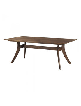 Moes FLORENCE RECTANGULAR DINING TABLE SMALL WALNUT