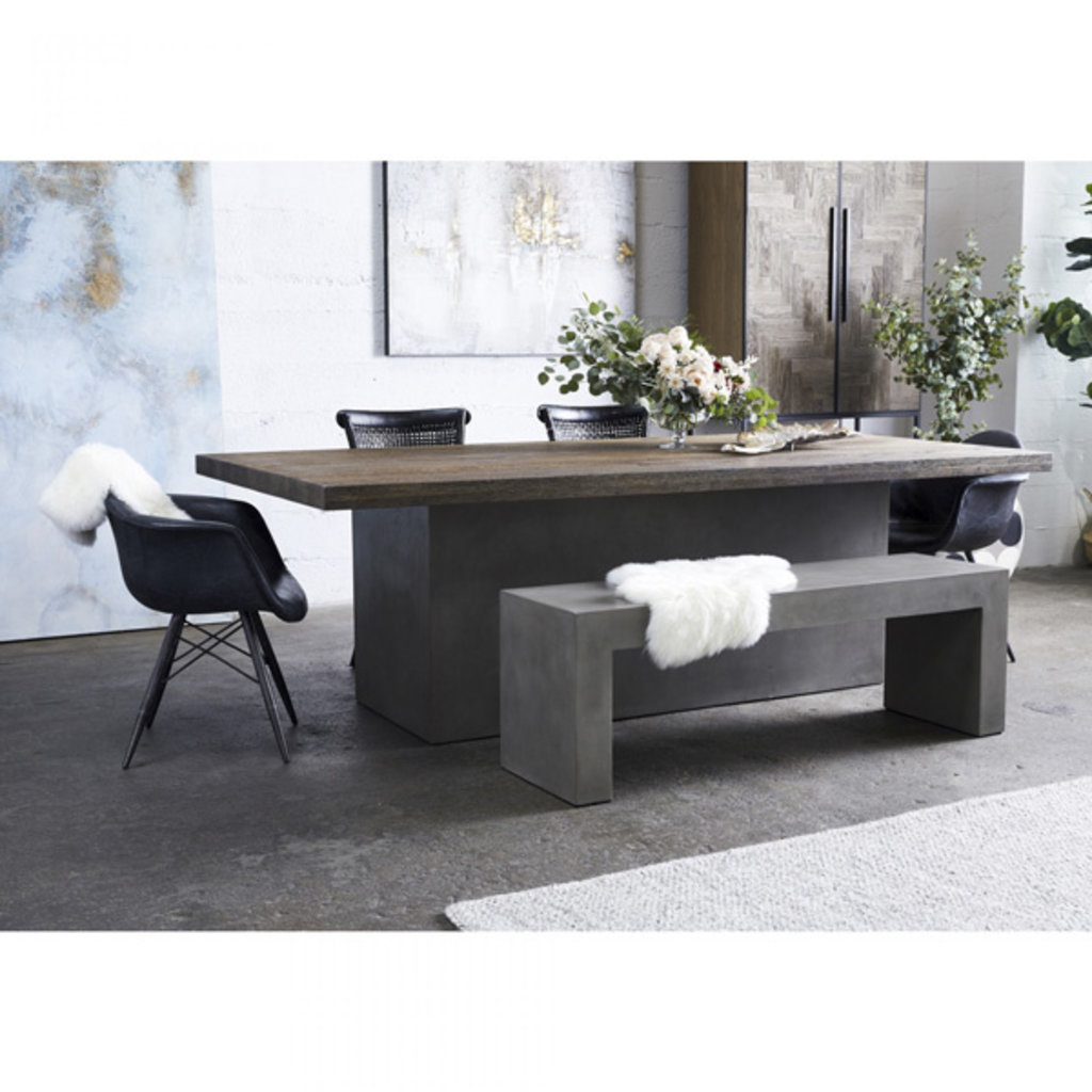 Moe's Home Collection Kaia Oak Dining Table