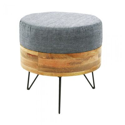 Moe's Home Collection Round Pouf