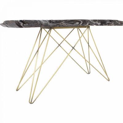 Moe's Home Collection TECTONA CONSOLE TABLE DARK BROWN